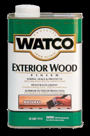 Watco Exterior Natural